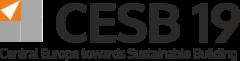 CESB19 – Central Europe towards Sustainable Building Prague